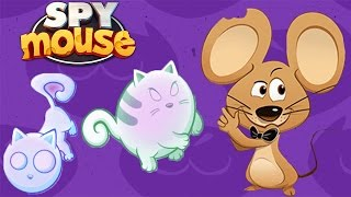 Воришка Мышка БОССЫ КОТЫ КОТ ПРИЗРАК SPY MOUSE Мышка как Воришка Боб  Играем в мультяшную игру