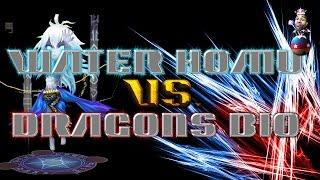 summoners war   water homunculus vs dragons b10 2 different builds