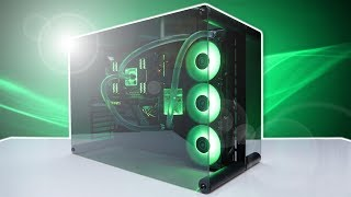 custom Gaming Rig '' THE GREEN ZONE '' Build Mid 2016