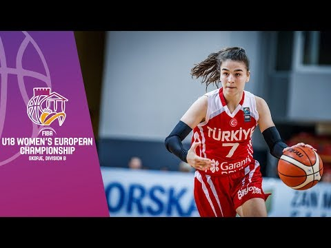 Turkey V Iceland - Full Game - FIBA U18 Women's European Championship Division B 2019