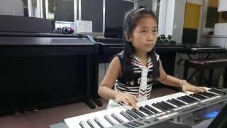 Bài ca đi học organ (Thúy Anh) - Lớp nhạc Giáng Sol