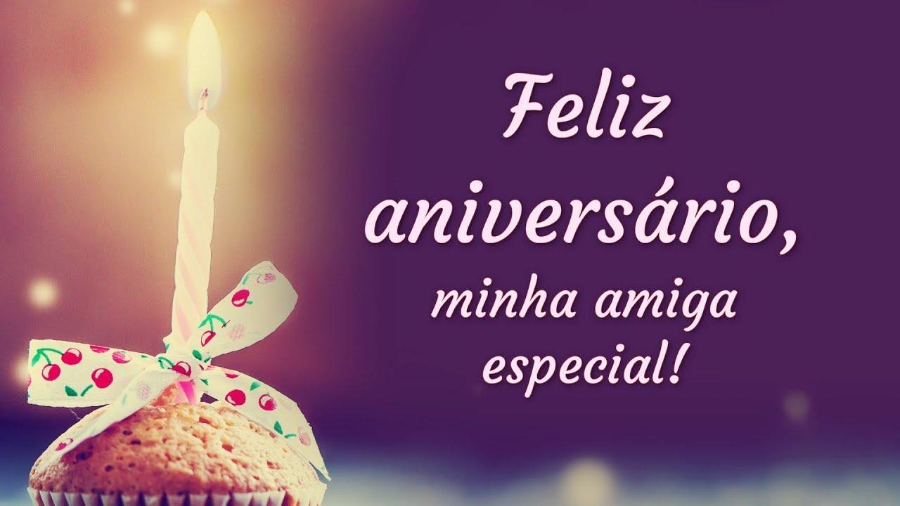 Mensagens De Aniversario Para Amiga: Mensagem De Feliz Aniversário (para Amiga Especial)