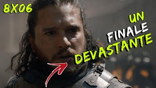 DELUSO, MA HO PIANTO! - Il Trono di Spade 8x06 - The Iron Throne - Game Of Thrones Reaction