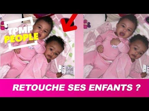 Kim Kardashian retouche les photos de ses enfants