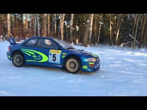 Rc Scale Studio 4x4 Tamiya Df03ra Rally Car Subaru Impreza WRX 1999 Monte Carlo