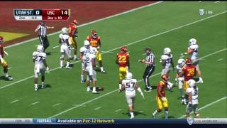 USC 45, Utah State 7 - Highlights 9/10/16