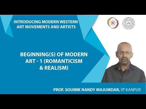 Lecture-4: Beginning(s) of Modern Art – 1 (Romanticism & Realism)
