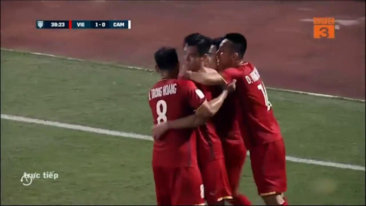 Video  Siêu Phẩm Của Quang Hải   Tiến Linh   Văn Đức   Việt Nam 3   0 Campuchia   AFF cup 2018