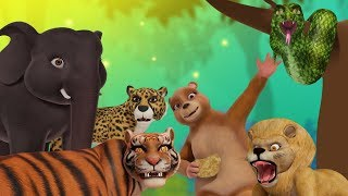 Jungle, Jungle – Animal Song | Hindi Rhymes for Children | Infobells