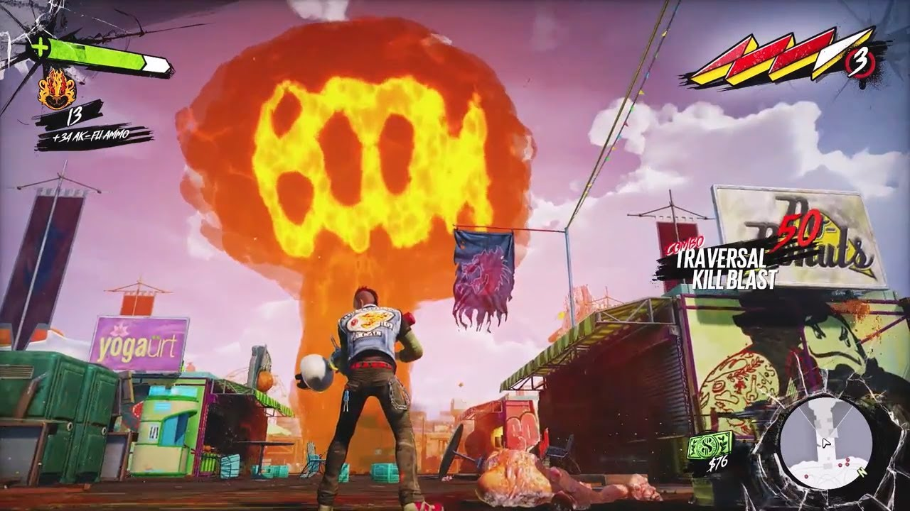 Sunset Overdrive Gameplay Xbox One Gameplay Youtube