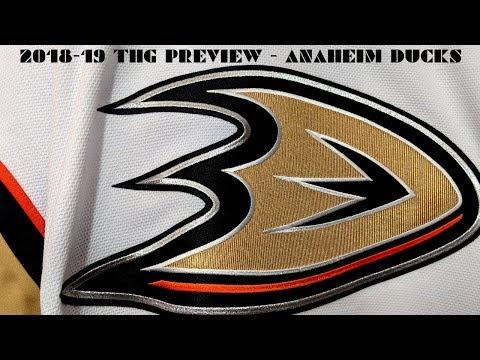 2018-19 Anaheim Ducks Season Preview