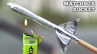 DIY  Rocket From Matches