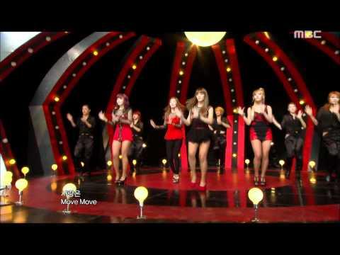 SECRET - Love Is Move, 시크릿 - 사랑은 무브, Music Core 20111022