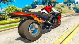 The FASTEST MOTORBIKE In GTA 5! (GTA 5 Stunts & Fails)