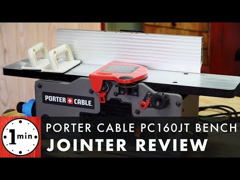 Porter Cable Benchtop Jointer Review