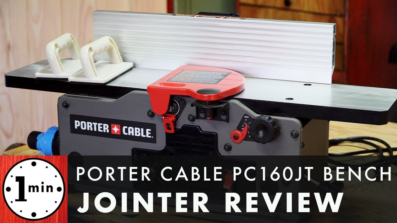 Porter cable benchtop jointer review youtube porter cable benchtop jointer review greentooth Choice Image