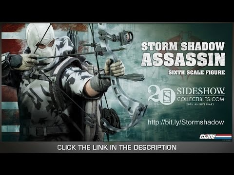 G.I. Joe Sideshow Collectibles Storm Shadow Assassin 1/6 Scale Collectible Figure Review