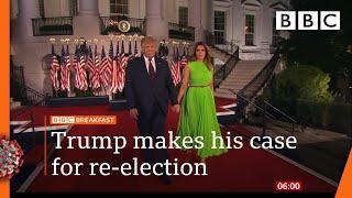 Trump warns Biden will 'demolish' American dream   Watch @BBC News live on iPlayer - BBC