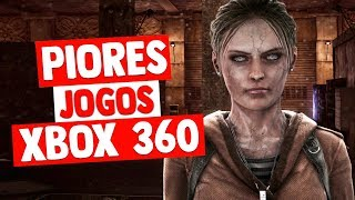 PIORES JOGOS do XBOX 360 de Todos os Tempos