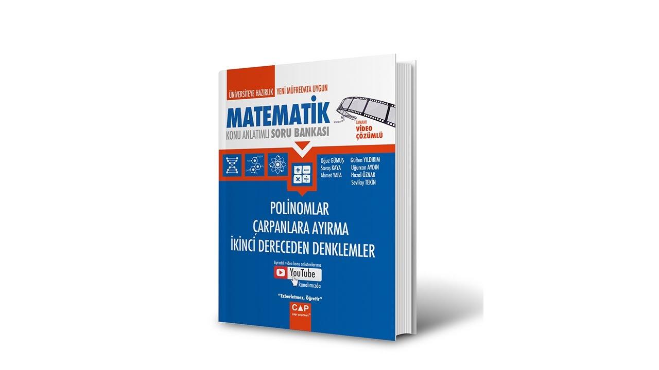 Download Çap Yayınları Polinom Konu Anlatımlı Soru Çözümleri - SAYFA 26-27