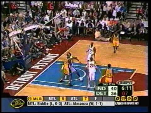 Pistons vs. Pacers - Game 6 2004 Eastern Conference Finals  Highlights (Fox Sports Detroit)