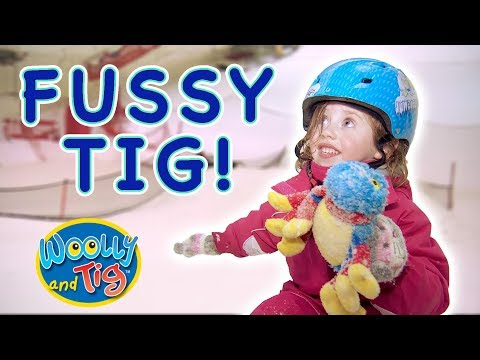 Woolly and Tig - Fussy Tig   Kids TV Show   Toy Spider