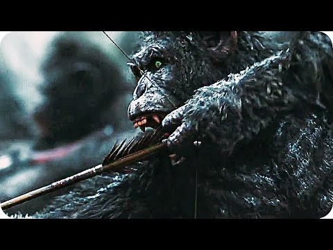 WAR FOR THE PLANET OF THE APES Trailer 2 Teaser (2017) Planet Of The Apes 3
