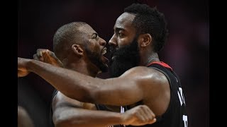 James Harden DISRESPECTS Chris Paul During Time Out!!! Heated Argument In Game 3