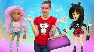 Классные видео для девочек. Новые куклы Snapstar! Веселые игры