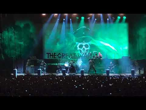 Sabaton In Moscow 13.03.20 The Attack Of The Dead Men (with Radio Tapok)