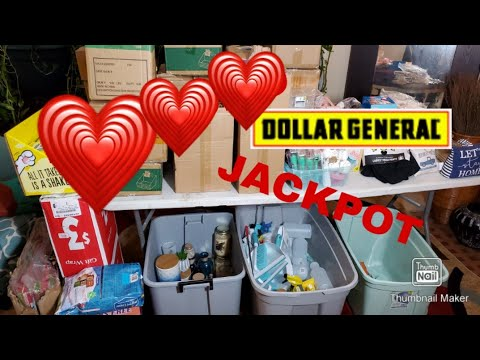 Retail Stores Waste | Dollar General | Dumpster Full Of Cases Of Merchandise #dumpsterdiving