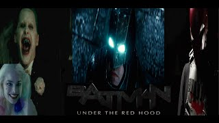 The batman: under the red hood (fan) trailer 2018- ben affleck, taron egerton