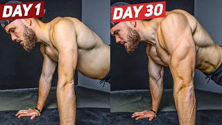Push Up Challenge That Will Change Your Life (30 DAYS RESULTS)
