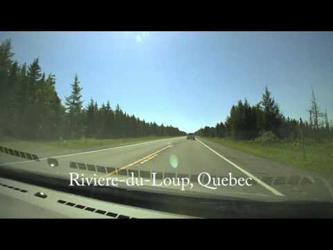 Timelapse of 15-hour drive from Ottawa to Halifax Airport