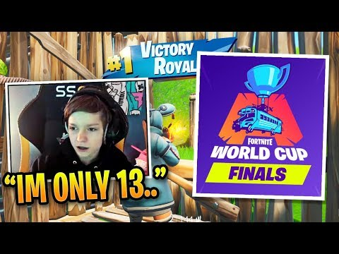 13 Year Old H1ghSky DOMINATES in World Cup Finals!