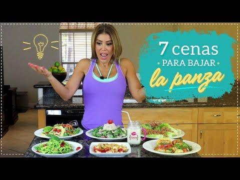 ¿Que cenar para bajar la panza? 7 cenas saludables o light