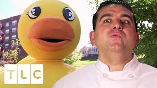 The Biggest Rubber Ducky Cake You'll Ever See! | Cake Boss