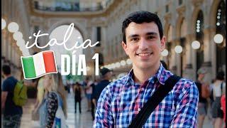 ¡LLEGAMOS A ITALIA! 😀 (y sin hablar italiano)