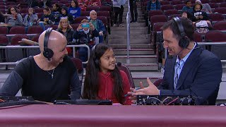 Young USC fan Neriah Asuega joins Pac-12 Networks broadcast as she battles cancer