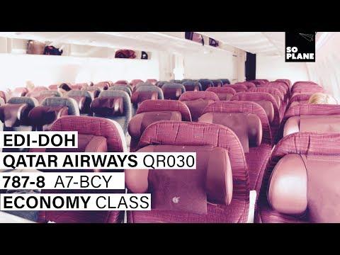 QATAR AIRWAYS | Edinburgh - Doha | 787-8 | Trip Report