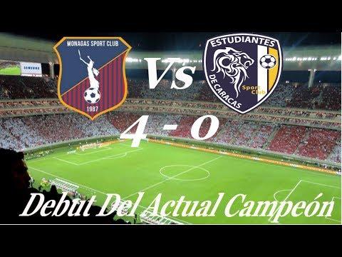 Resumen| Monagas Sc (4)-(0) Estudiantes De Caracas| Jornada 1 Torneo Apertura 2018| Futve eb