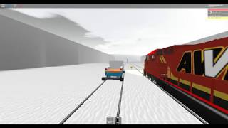 ROBLOX Chasing after the Runaway Freight Train