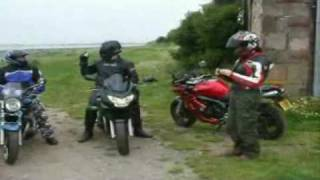 Bandits and Fazer invade Holy Island