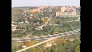 Полет над Калугой на вертолете МИ-8