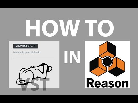 How to Use Airwindows VST in Reason