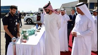 عمار النعيمي يطلع على المخططات والتصاميم والدراسات الخاصة بأنشاء ميناء عجمان الجديد وملامح التطوير