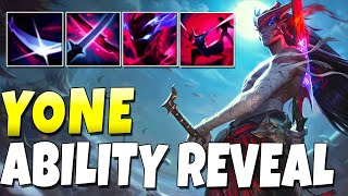 YONE ALL ABILITIES REVEALED!!!!! + Yone & Yasuo Cinematic - League of Legends