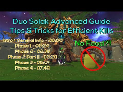 RS3 Duo Solak Advanced Efficiency Guide - Tips n Tricks