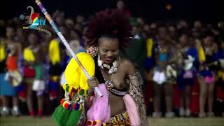Buhle Betfu || Umhlanga Reed Dance 2018 || Solo Dance By The Princess Sikhanyiso