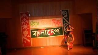 "Bijoy Dibosh 2011 - ""Ek Din Bangali Chilam Re"" Dance"